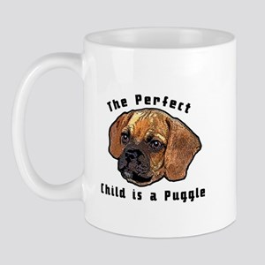The perfect child is a puggle Mug